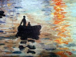 Sol naciente. Claude Monet